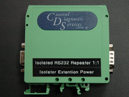 Isolated RS232 Repeater 1:1