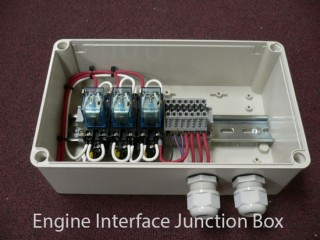 engine interface junction box