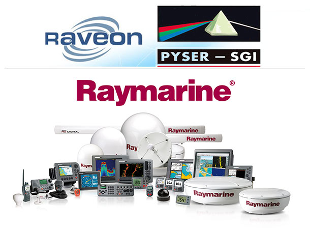 Raveon, Pyser SGI, Raymarine